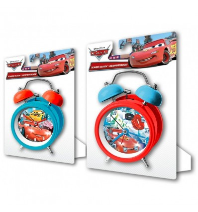 Reloj campanas 9 cm. cars