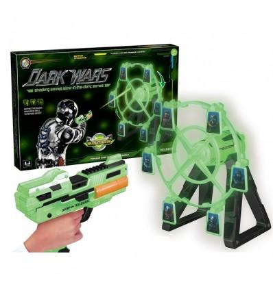 Pistola con diana dark glow