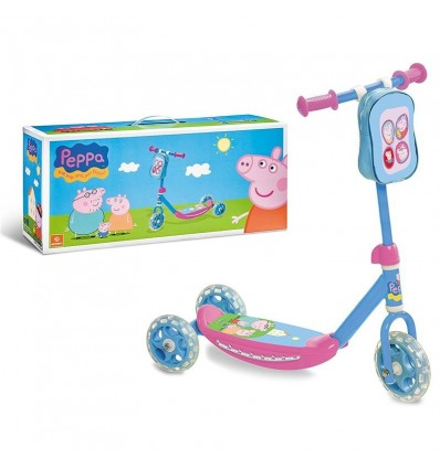 Patinete 3 ruedas - peppa pig