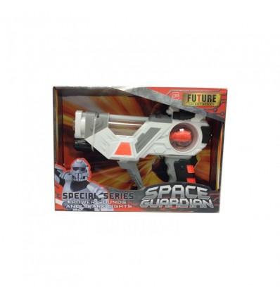 Pistola espacial 22,5 cm con luz y sonido