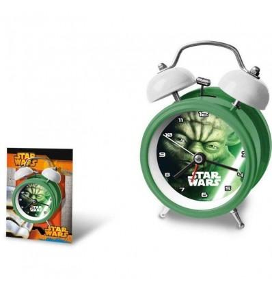 Reloj campanas 9 cm. yoda