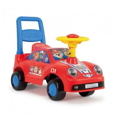 Correpasillos racing car paw patrol