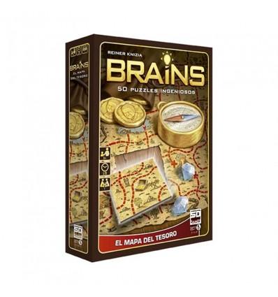 Brains - mapa del tesoro