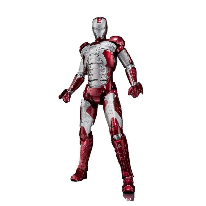 Iron man mk v + set hall de armaduras figura 15 cm Sd distribuciones 45496601778