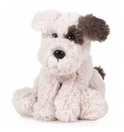 Animal nature 32 cm.- peluche perro con mancha ojo
