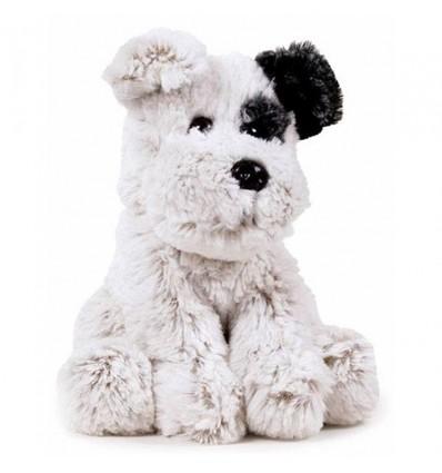 Animal nature 32 cm. - peluche perro gris
