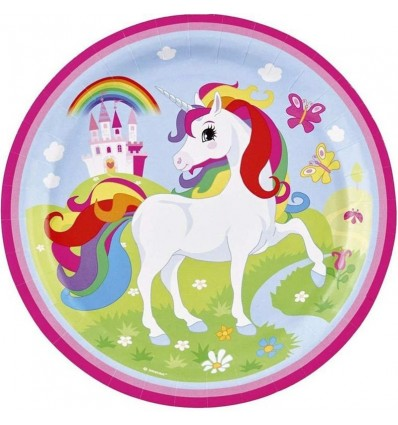 Balon 23cm unicornio
