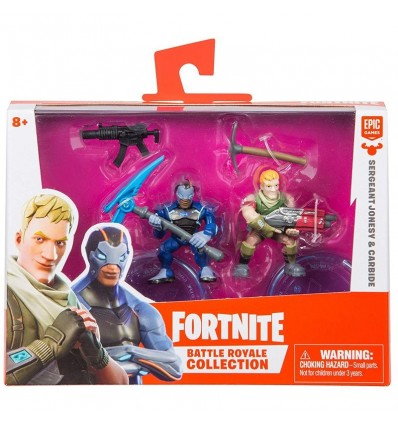Fortnite Sergeant Jonesy Y Carbide 7 Cm Mu 241 Ecos Fortnite