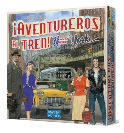 Aventureros al tren new york