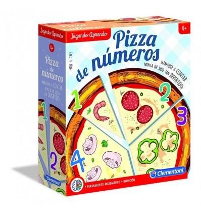 Aprendo pizza de números