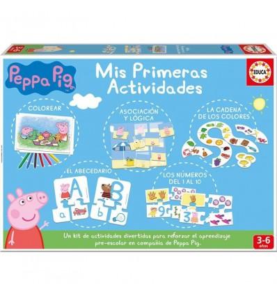 Peppas pig primeras actividades