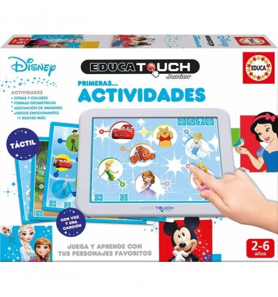 Educa touch disney primeras actividades