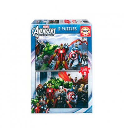 Puzzle 2 x 100 avengers