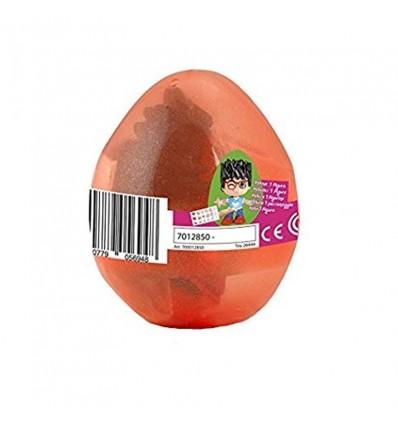 Pinypon huevo sorpresa naranja niño