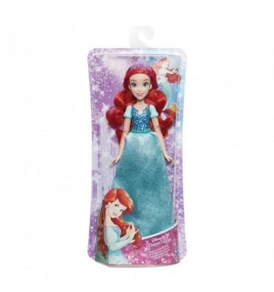 Muñeca Ariel brillos Disney