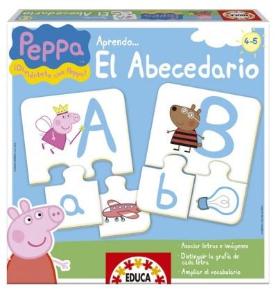 Aprendo el abecedario peppa