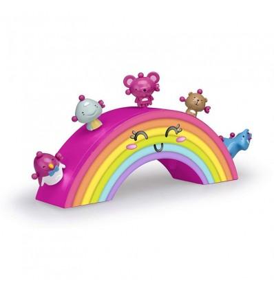 Ziwies. arco iris con 5 figuras