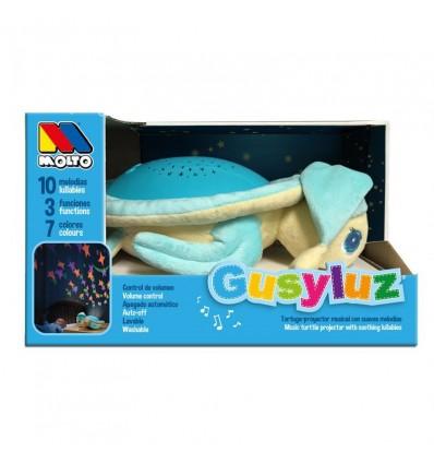 Proyector tortuga gusy con sonidos