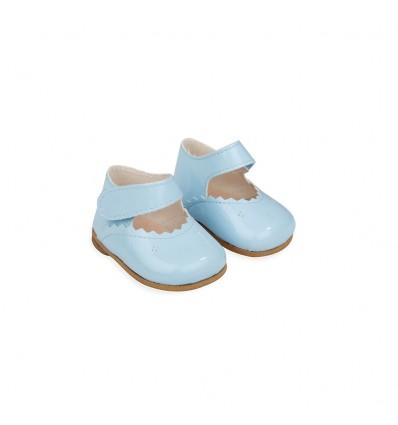 Zapatos Reborn color Azul