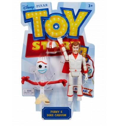 Toy Story 4 Figura Básica Forky y Duke Caboom