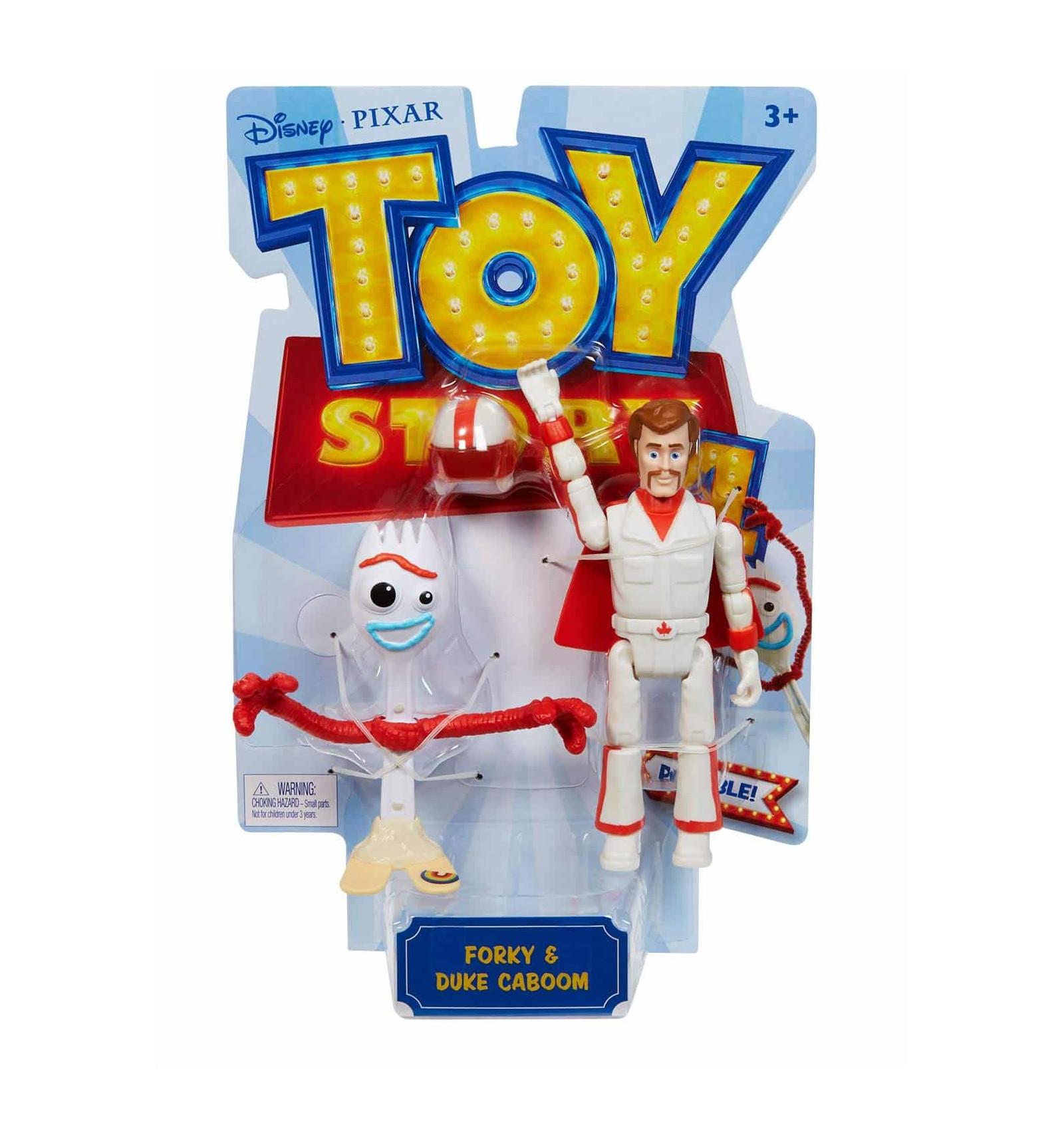 Toy Story 4 Figura Forky Y Duke Caboom Palaciodeljuguete Com