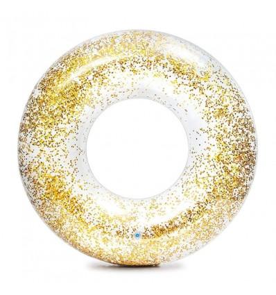 Flotador Transparente glitter