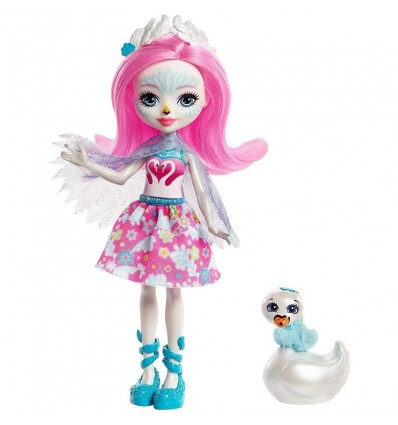 Enchantimals muñeca Saffi Swan