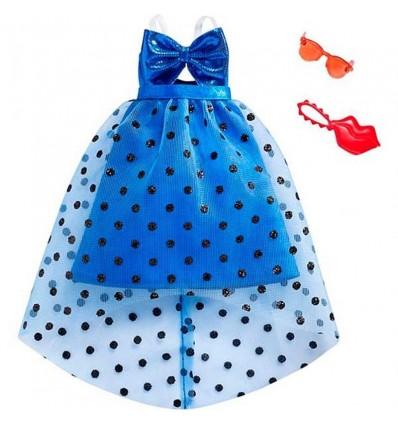 Barbie moda vestido azul