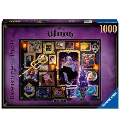 Puzzle 1000 Ursula Villanos de Disney