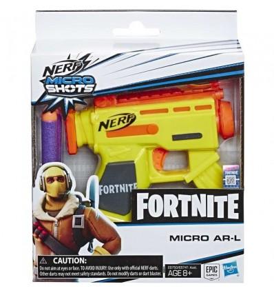 Nerf microshots Fornite micro ar-l