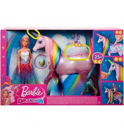 Barbie y su Unicornio con Luces