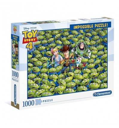 Puzzle 1000 imposible toy story 4