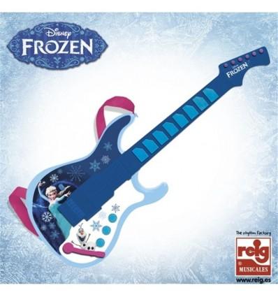 Guitarra Electronica Frozen c/salida mp3