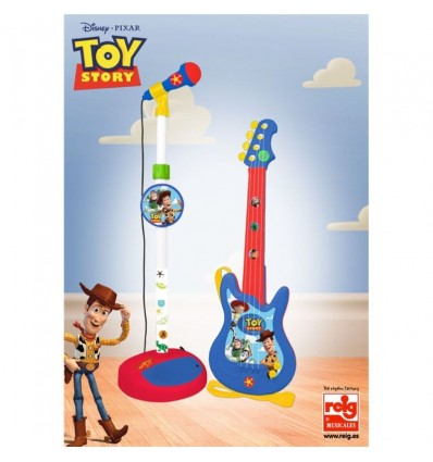 Micro y Guitarra Toy Story