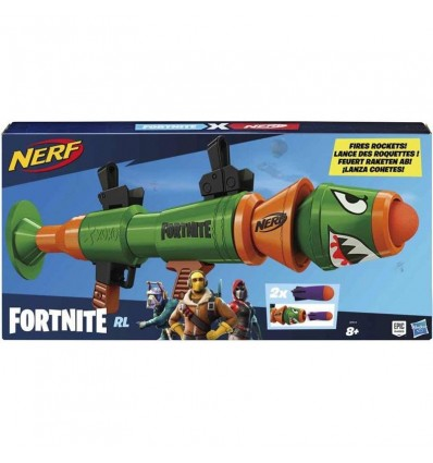Nerf fortnite rusty rocket lanzadardos