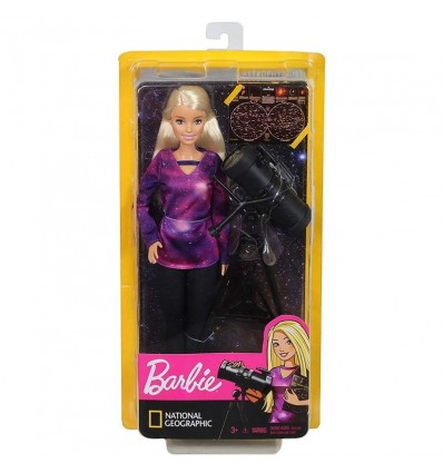 Barbie Astronoma National Geographic