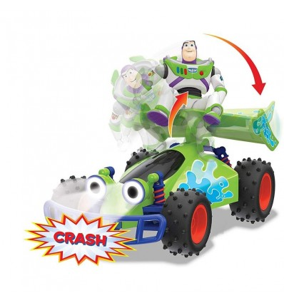 Toy story 4 Buggy Crash Buzz Radiocontrol 1:18
