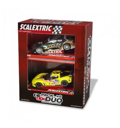 Pack 2-coches scalextrix surtido (precio unidad)