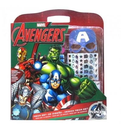 Mega Set de Diseño Avengers