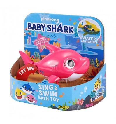 Baby Shark Mommy Robo Fish rosa