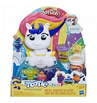 Play doh unicornio helados deliciosos