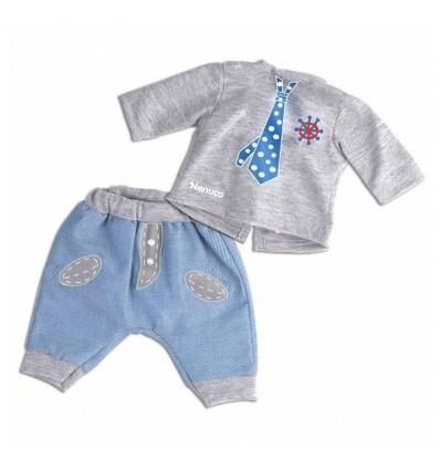Nenuco Ropita Casual Corbata azul