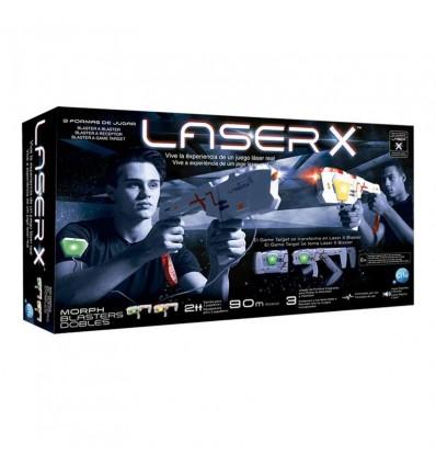 Pistola laser doble