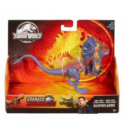 Dinosaurio ataque dilophosaurus