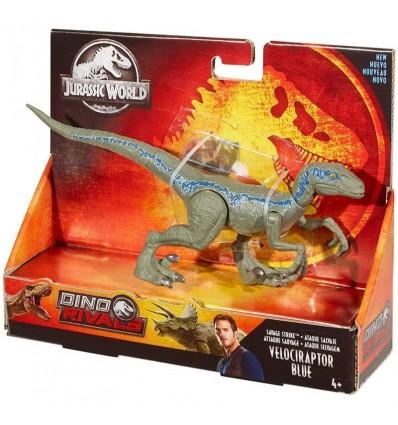 Dinosaurio ataque velociraptor blue
