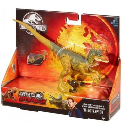 Dinosaurio ataque velociraptor