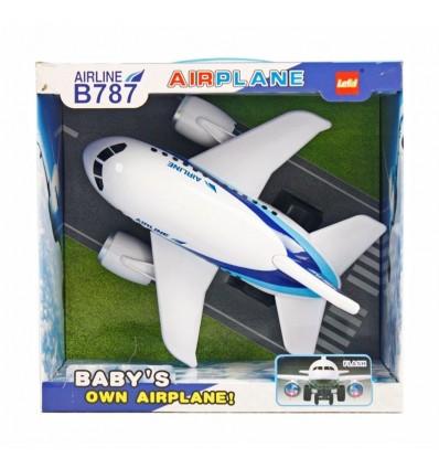 Avion 32 cm. con luz y sonido