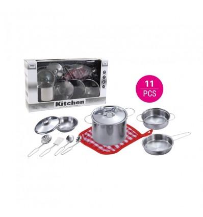 Accesorios Cocina Inoxidable 11 piezas