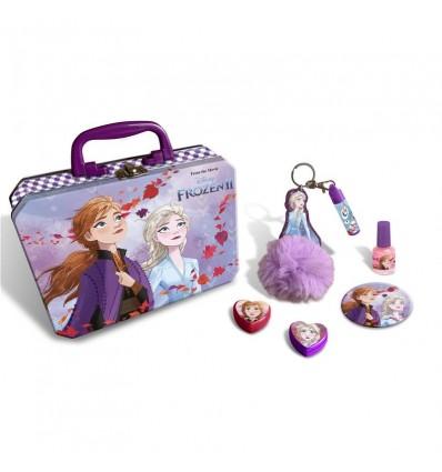 Maletin Metalico Maquillaje Frozen 2