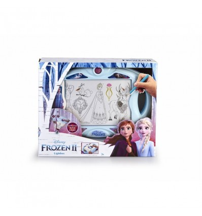 Pizarra Frozen 2 lightbox